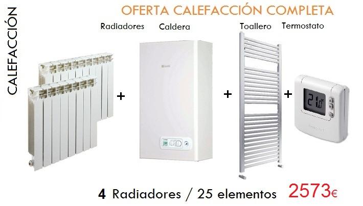 Gas natural instalacion calefaccion interesting best for Radiadores calefaccion central precios